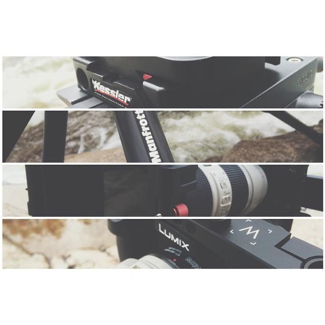Gear snaps. #kessler #kwikrelease #manfrotto #kamerar #mattebox #canon #5D #mark3 #70mm200mm #WoodenCamera #cobracrane #backpackerJib #scottbarberfilm