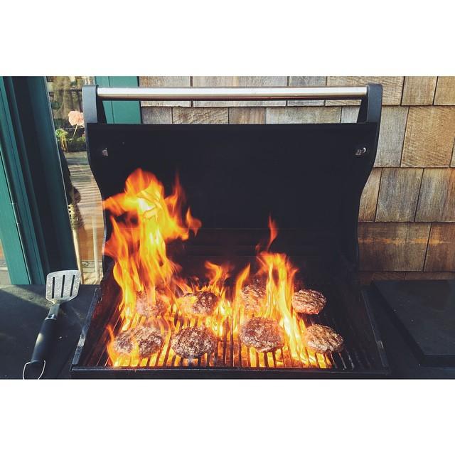I burned them.