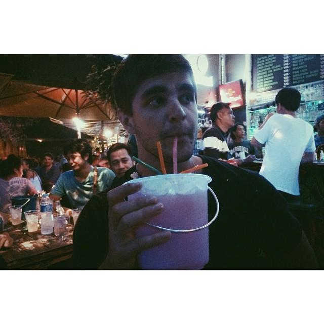 Casual cocktail in Chiang Mai. #theGreatSend #ChadsInThailand