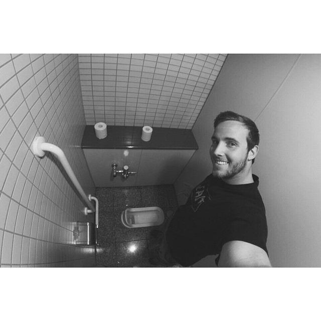 Where's the seat? Japan bathroom introduction to the squat scene. #theGreatSend #ChadsInThailand