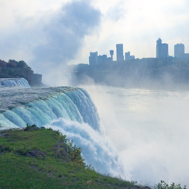 Check Niagra off the #bucketlist. Now to do it in a barrel…