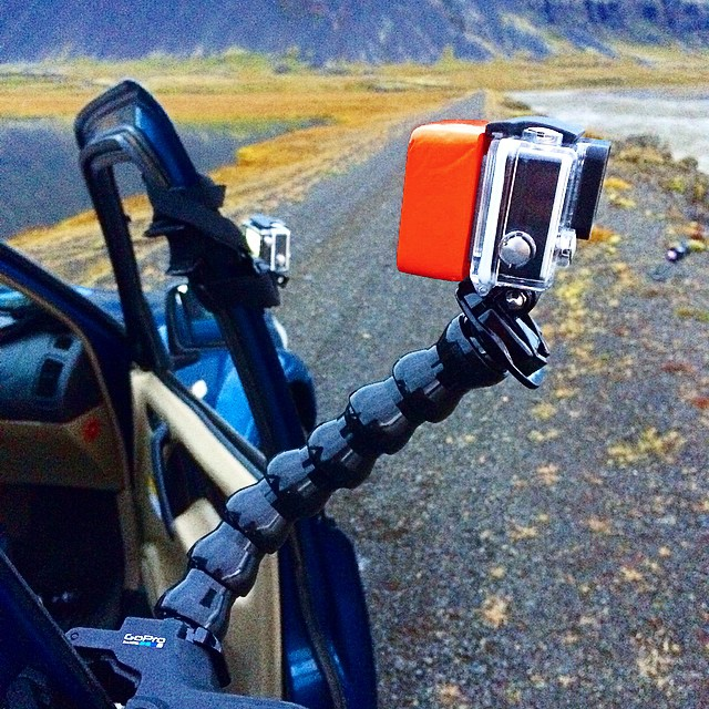 Three timelapses at once when we spotted the main glacier in Iceland. #spotTheThird #icelandroadie #scottbarberfilm