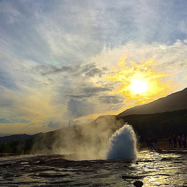 Geysir #IcelandRoadie