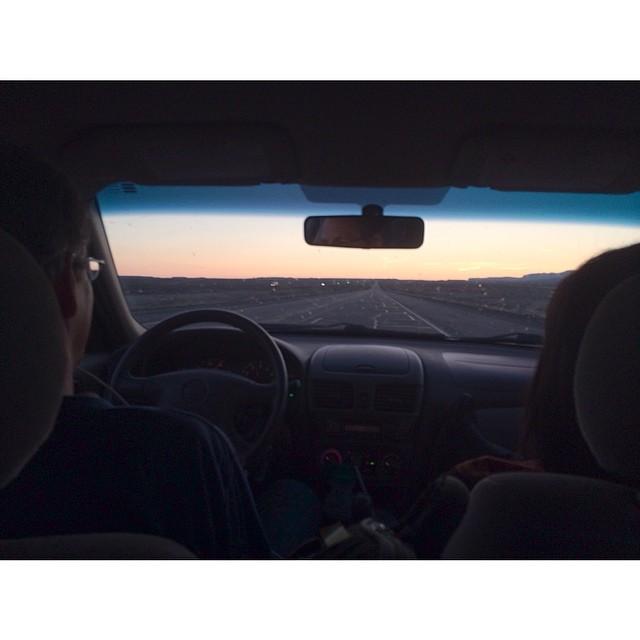 Road tripping to Utah. 🎥📷