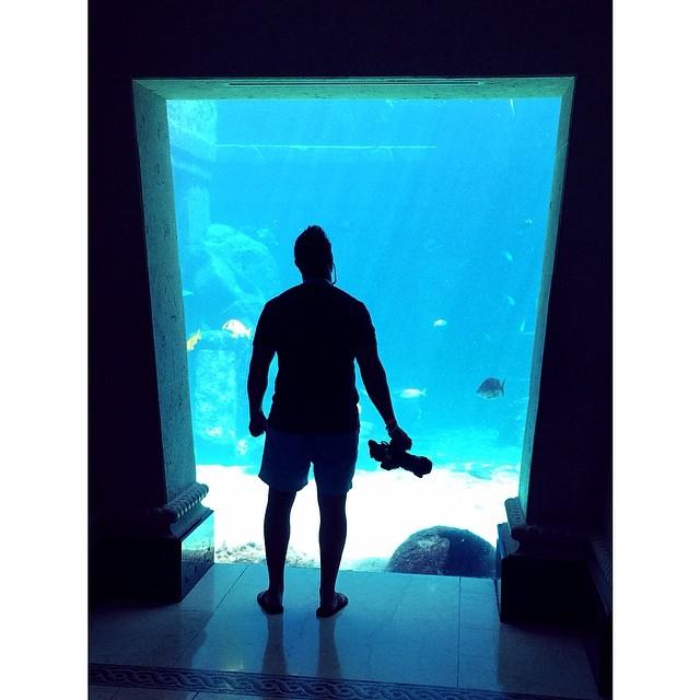 Crushing Atlantis resort for B-Roll. #bahamas