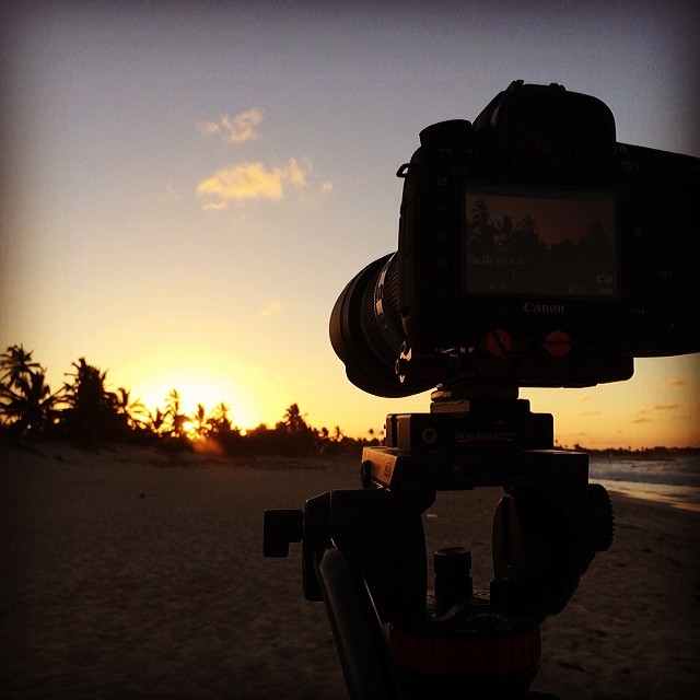 Shooting sunsets will never get old. Last night in Punta Cana. Bahamas tomorrow! #springbreak2014
