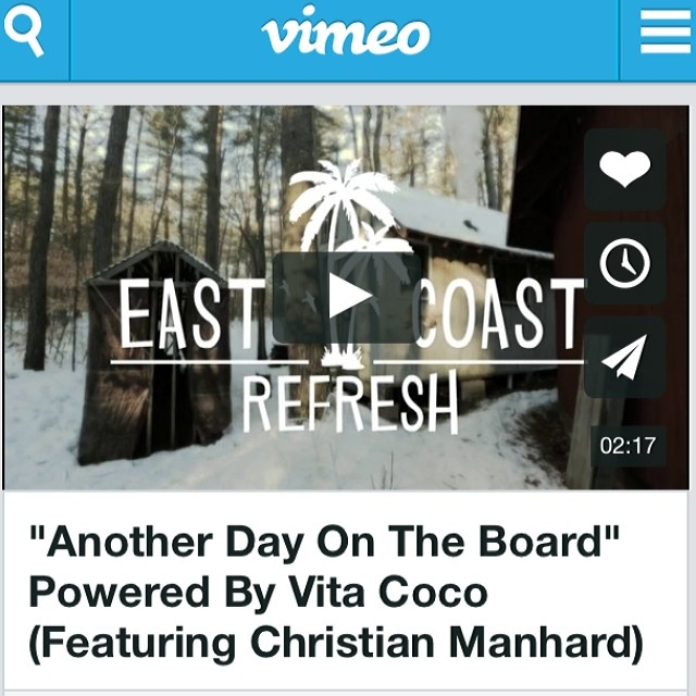 Be sure to check out the newest edit for the Vita Coco reFRESH series. #scottbarberfilm http://vimeo.com/87004062