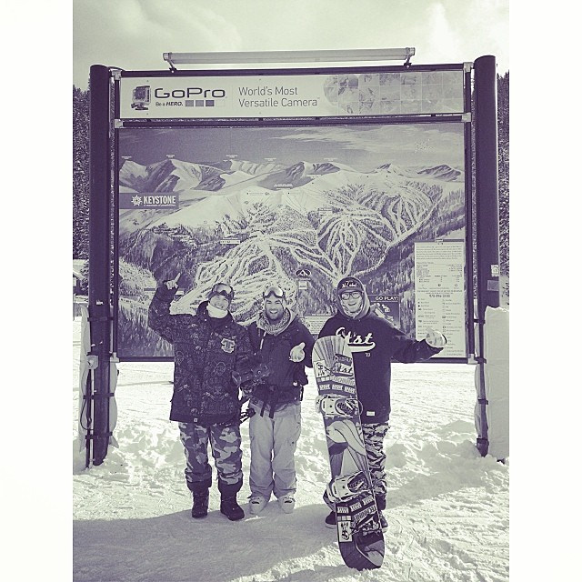Most fun this trip was at Keystone. Good times we'll be back. @c_manhard @austinperry88 @drob3000