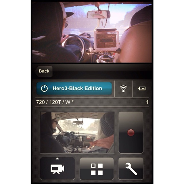 Behind schedule but the GoPro app is running smoothly for the Vita Coco shoot. #gopro #scottbarberfilm