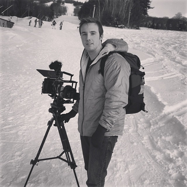 Just finished shooting the first Cranmore terrain park update of the season. Parks looking fun go out and session it!