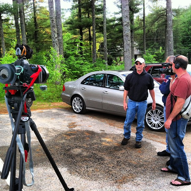 Shot alongside Granite Films today in the early stages of a documentary piece.