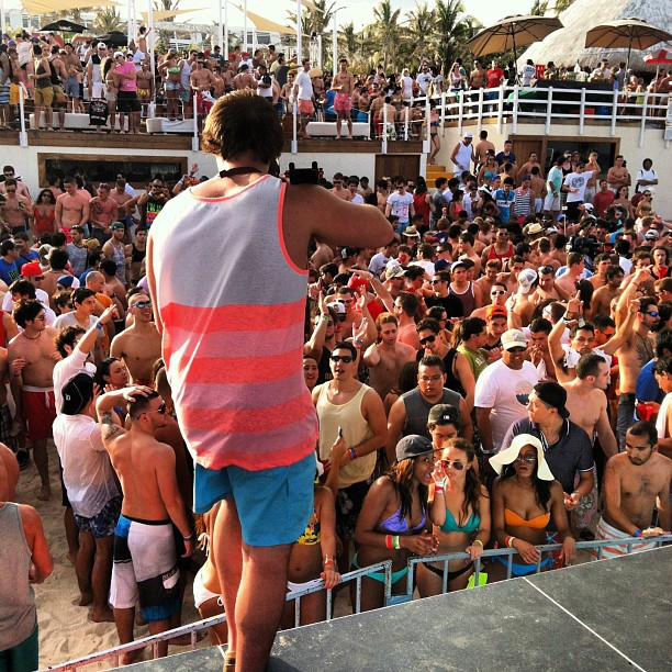 Cancun Day 9: Beach Party