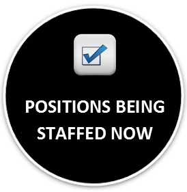 Positions Being Staffed Now