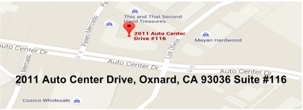 2011 Auto Center Dr. #116 Oxnard, CA 93036