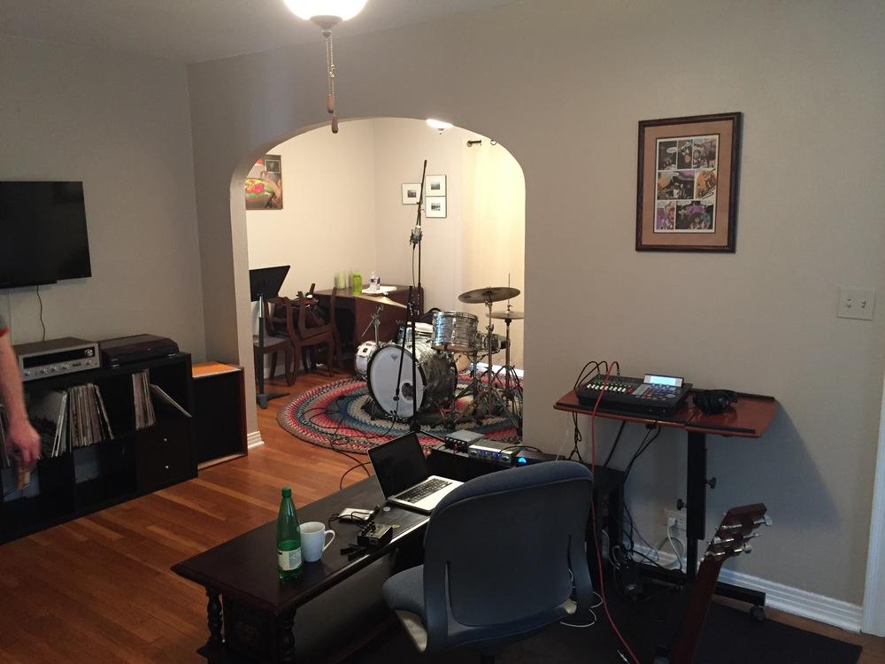 The Bear Haus Home Studio (2015)