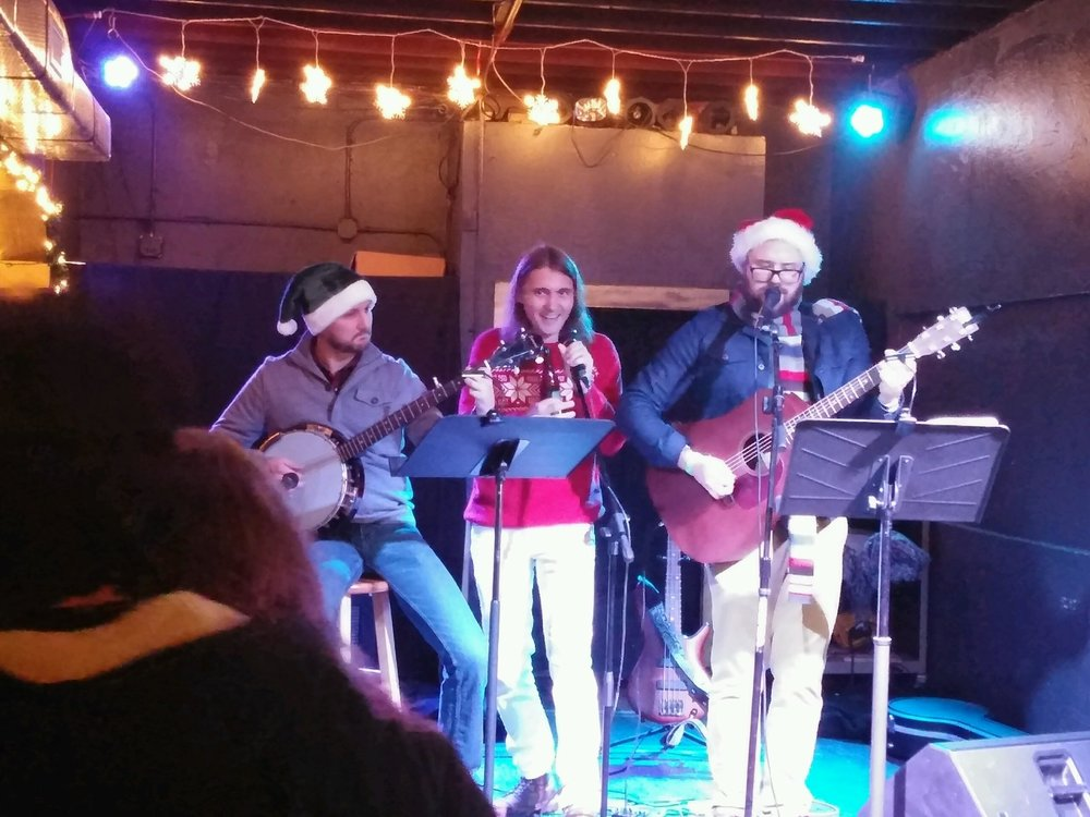 The Reindeer Games with Nicholas Spyker at Ventura's Blue Christmas 2016