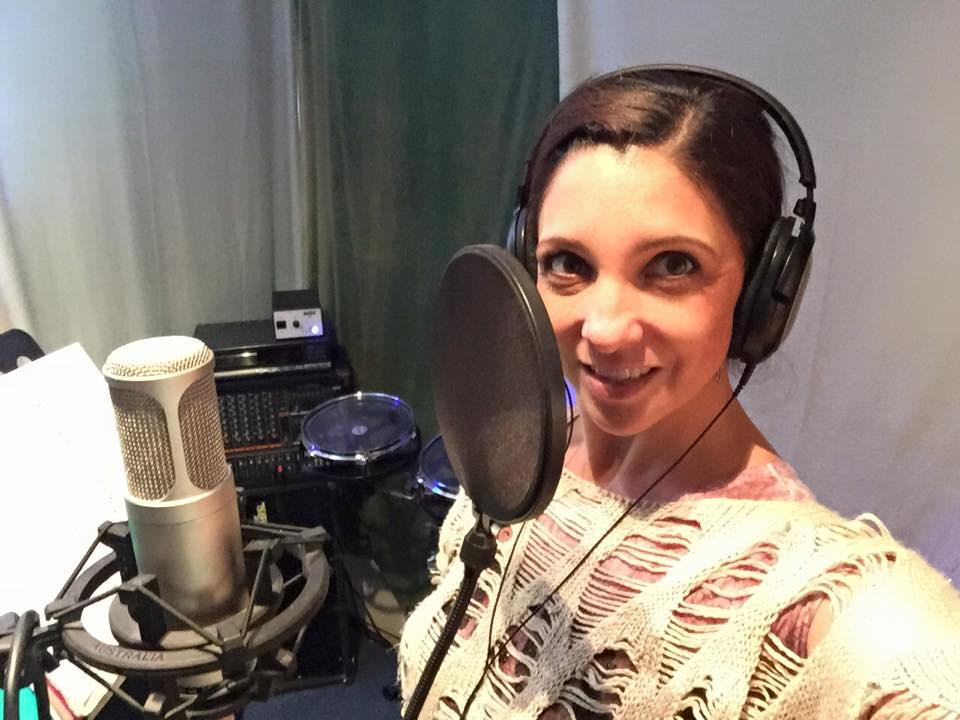 Recording Studio Selfie