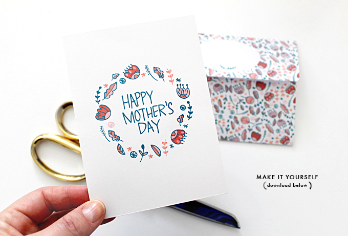Diy Printable Mother 39 S Day Card Envelope Evie Barrow