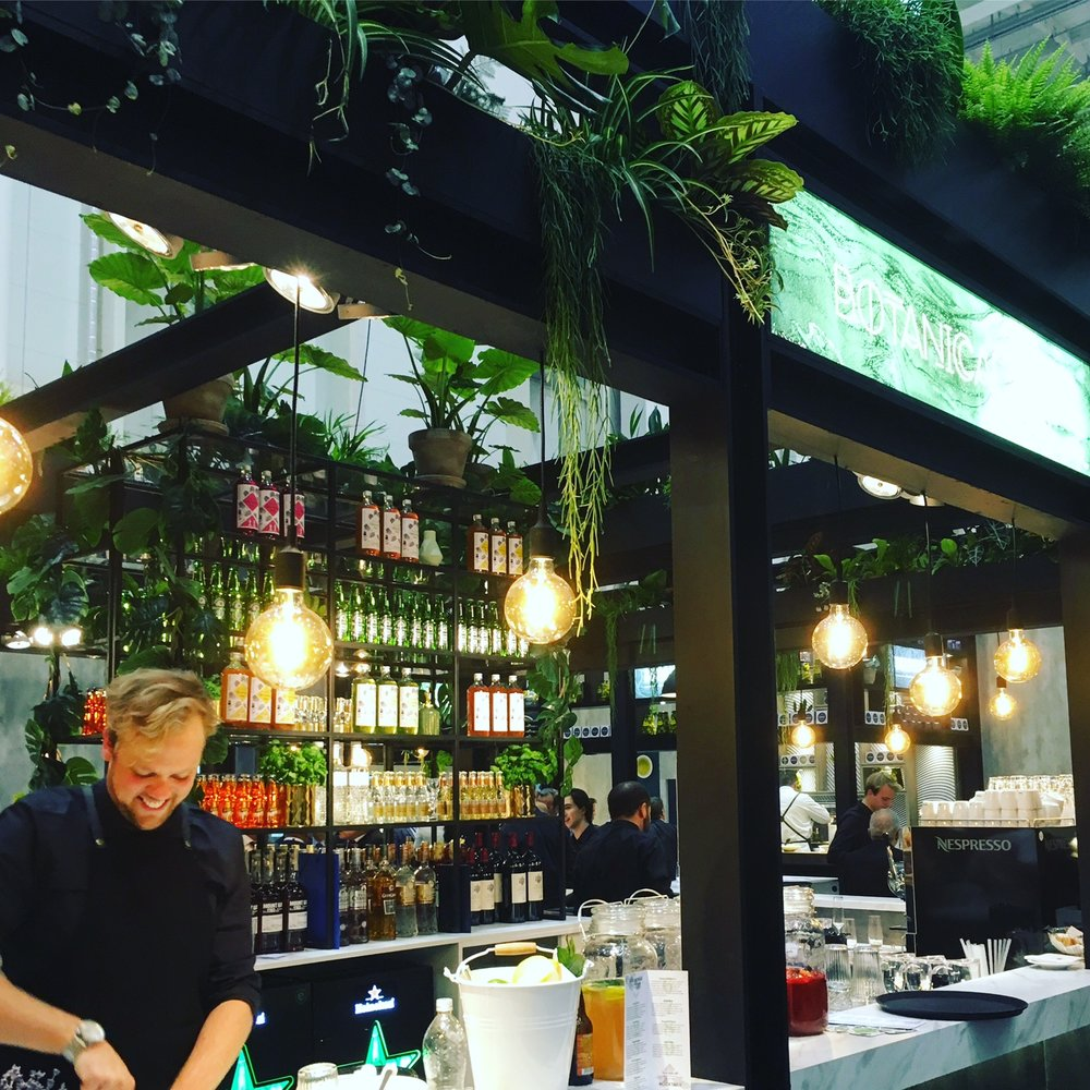 Botanical Bar voor Gategroup, WTCE Hamburg Messe