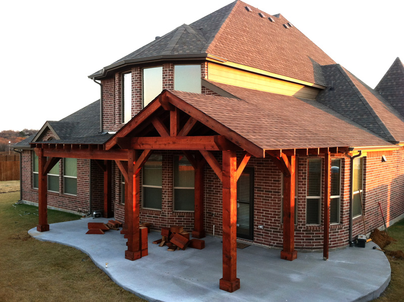 How To Build Covered Porch