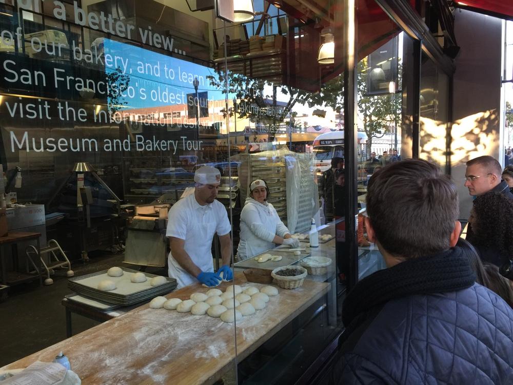 Boudin Bakery, Sourdough heaven!
