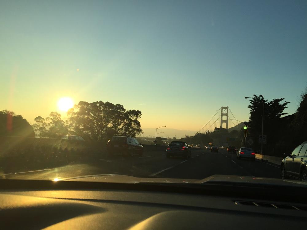 Leaving for Home.. bye Bye, San Fran