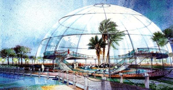 Floating Island - UAE