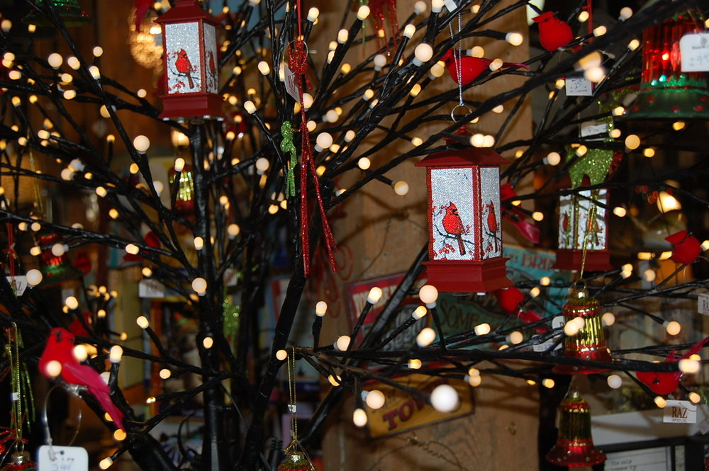 The holidays are here! Come in and see our great selection of ornaments and decorating accessories.