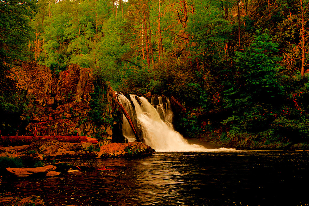 Abrams Falls Smoky Mountain National Park