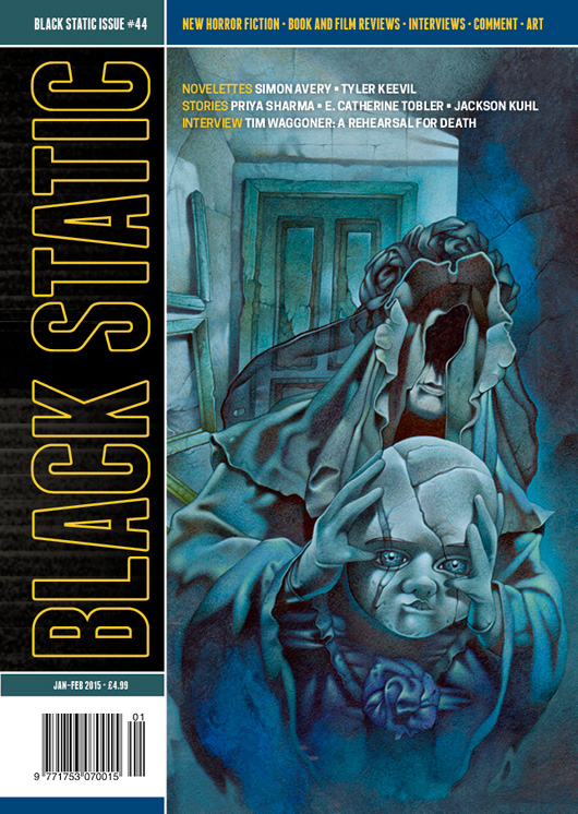 Black Static Issue 44 Cover
