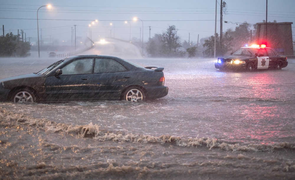 Albuquerque experienced record rain last week