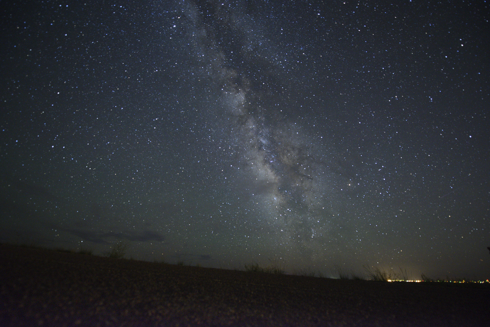 Milky Way over New Mexico