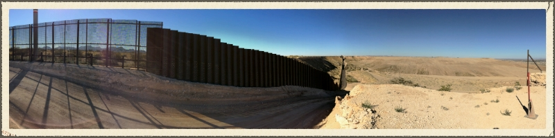 The Border.  Sunland Park, New Mexico