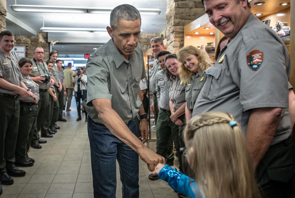 President Obama visits Carlsbad Caverns