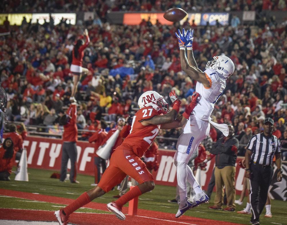 Boise State scores against UNM