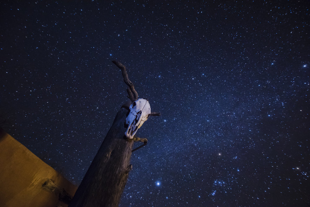 Night Sky over Southern New Mexico