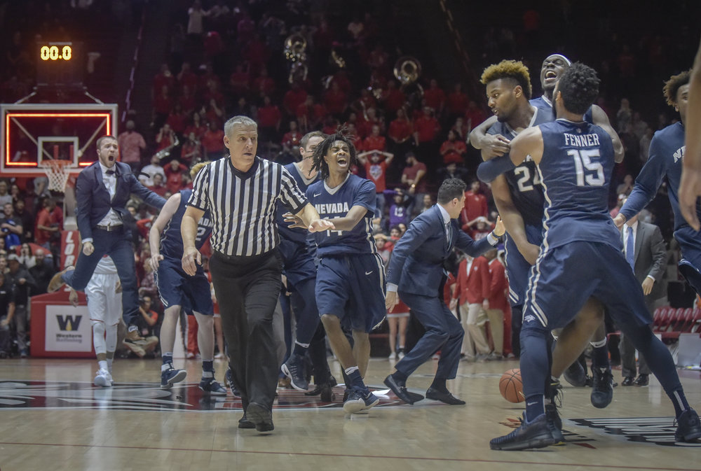 Lobos suffer crushing defeat as they lose to Nevada in overtime.