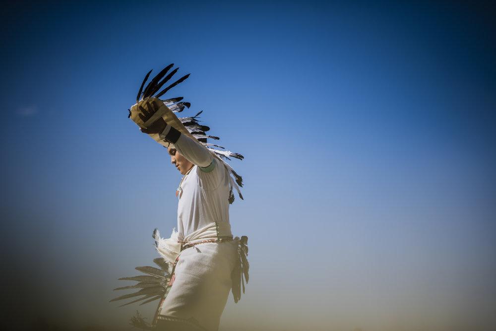 Jemez pueblo Eagel Dancer