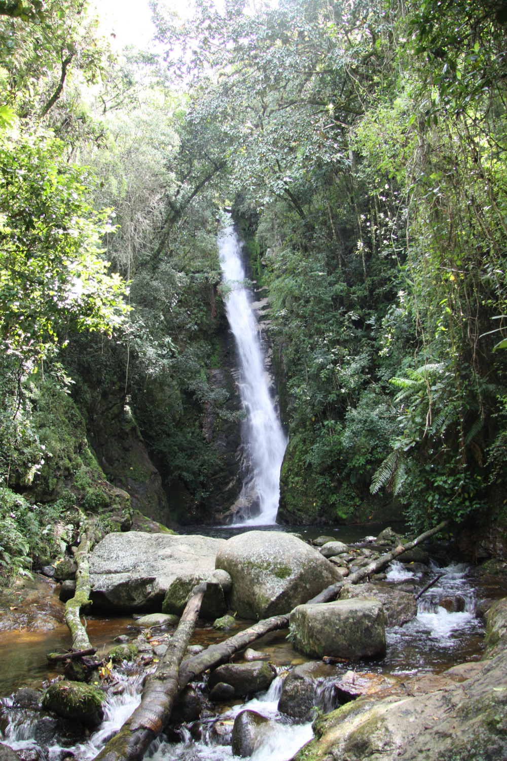 The sacred salto of Kurakata