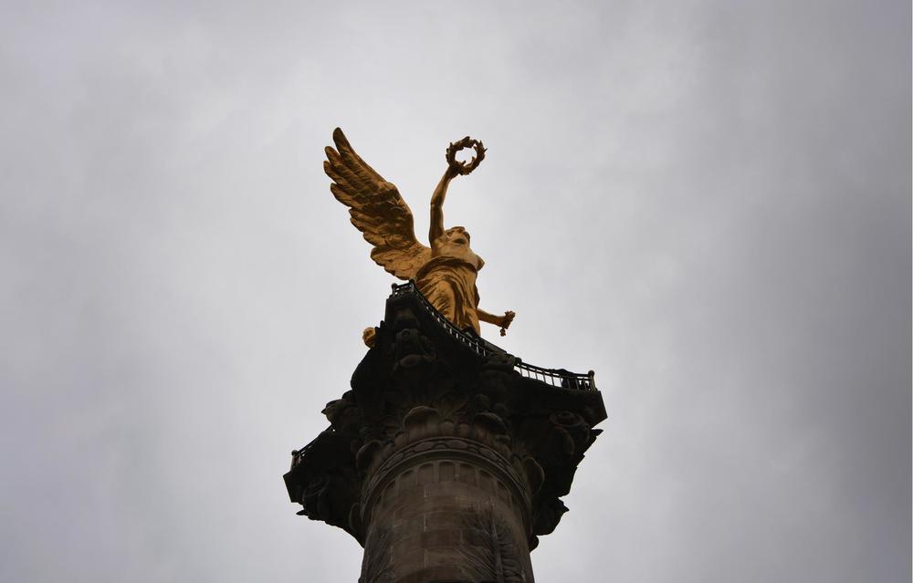 Ángel de la Independencia, México D.F.