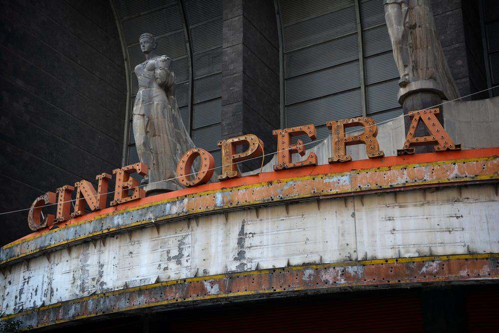 Cine Ópera, México D.F.