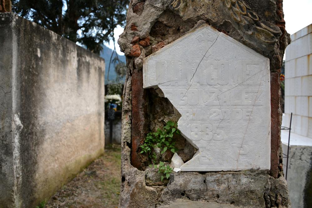 Cementerio de Tepoztlán, Morelos