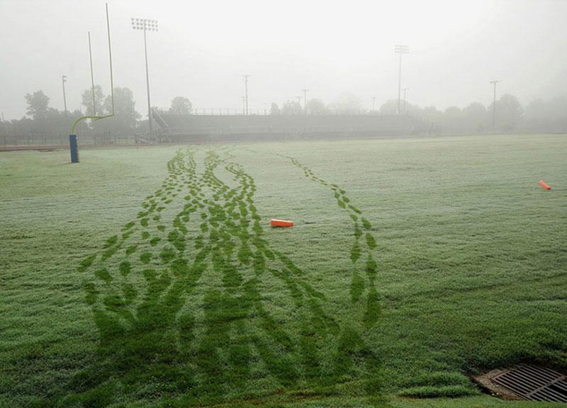 Football practice, 2013