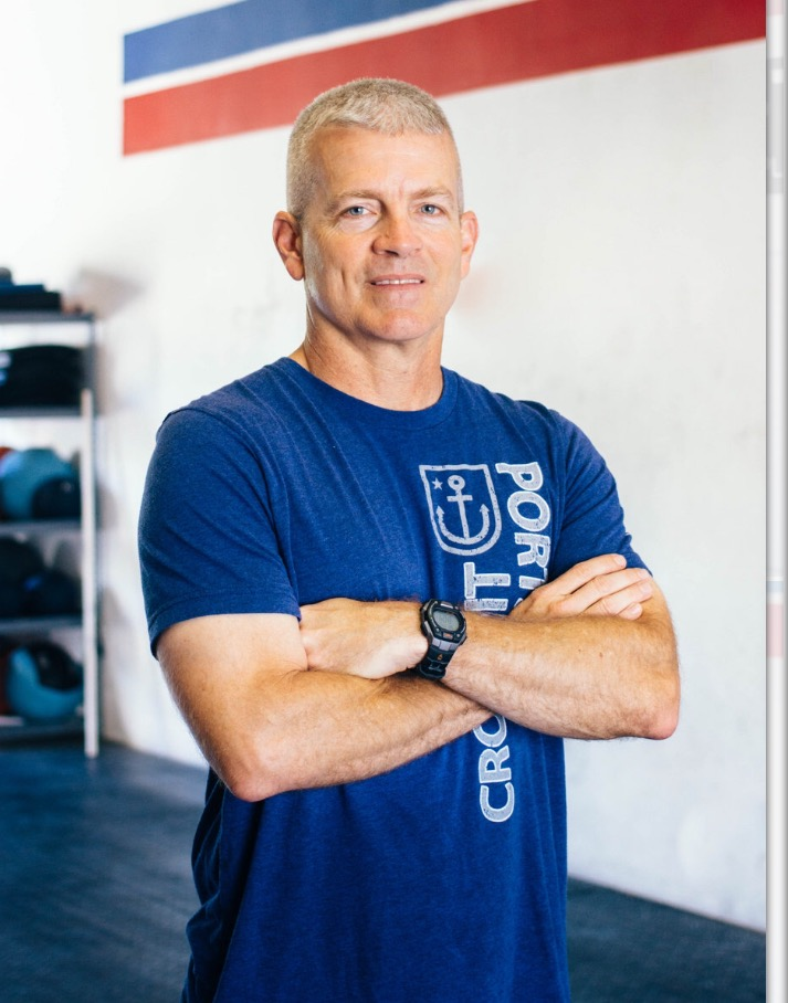 "Steven Farragut    Steven , a CrossFit Level 1 trainer, is a retired military officer and currently a Senior Army JROTC Instructor at Ocean Springs High School.  After years of doing the military ""daily dozen"" fitness program and a couple marathons, Steven found that CrossFit is the program that can provide a daily challenge and a sense of accomplishment every time you leave the box. CrossFit is a very scalable program to meet the fitness level of each individual so that everyone can participate and receive the life and health benefits."