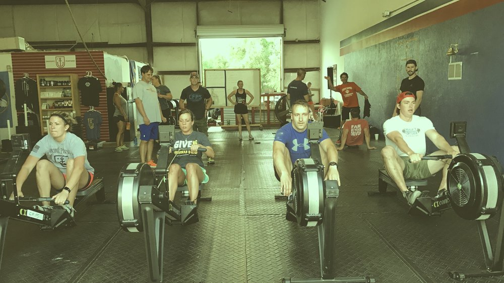 Free Intro Session: - Tour facility, meet the coaches, sweat a little and get an AWESOME workout