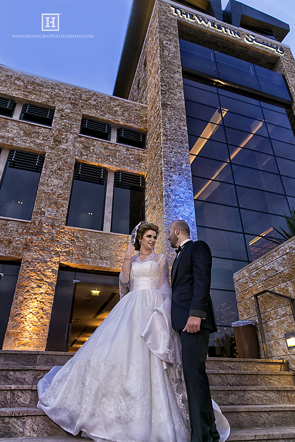 Westin Abu Dhabi Wedding of Yahya and Haneen.
