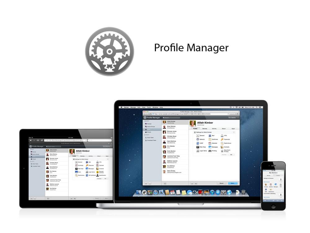 Gestão de iPhones, iPads e Macs