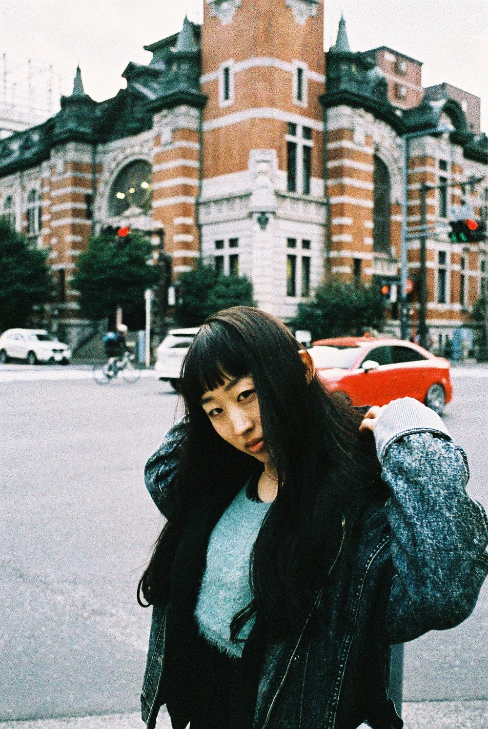 Saya - Shot on 35mm film in Yokohama