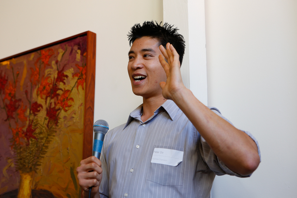 Peter Do, volunteer and champion