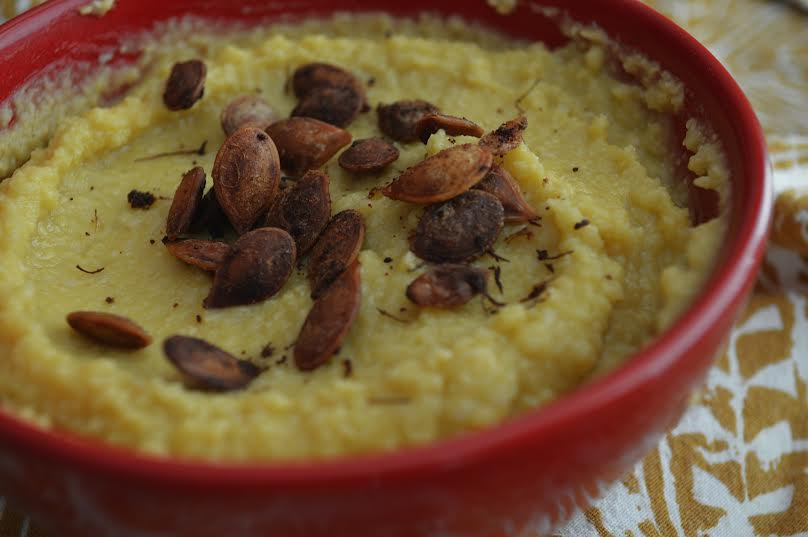 Roasted Heirloom Pumpkin Hummus
